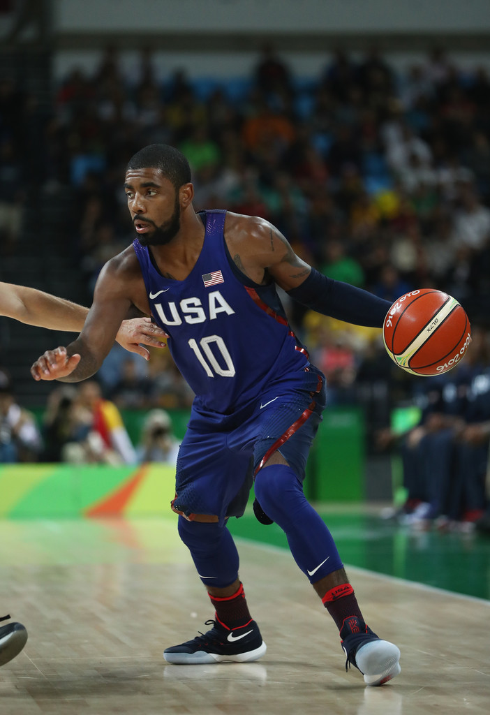sports shoes cf335 a9c2b Kyrie Irving Photos - Basketball - Olympics: Day 5 - 1067 of ...