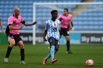 Bassala Sambou Coventry City v Northampton Town - The Emirates FA Cup First Round