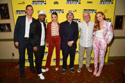 """Josh Ritter, Martin Lawrence, Harmony Korine, and Jimmy Buffett attends the """"The Beach Bum"""" Premiere 2019 SXSW Conference and Festivals at Paramount Theatre on March 09, 2019 in Austin, Texas."""