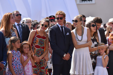 Beatrice Borromeo Pierre Casiraghi Prince Albert of Monaco Celebrates 10 Years on the Throne