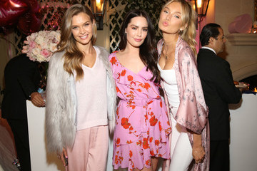 Beau Dunn Victoria's Secret Hosts Ultimate Girls Night in With Angels Josephine Skriver and Romee Strijd