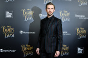 """Actor Dan Stevens attends the """"Beauty And The Beast"""" New York screening at Alice Tully Hall at Lincoln Center on March 13, 2017 in New York City."""