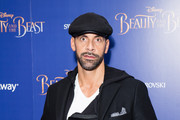"Footballer Rio Ferdinand attends the UK Premiere of ""Beauty And The Beast"" at Odeon Leicester Square on February 23, 2017 in London, England."