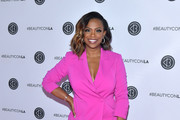 Kandi Burruss attends Beautycon Festival Los Angeles 2019 at Los Angeles Convention Center on August 10, 2019 in Los Angeles, California.
