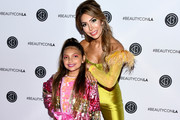 Farrah Abraham (R) and Sophia Abraham attend Beautycon Festival Los Angeles 2019 at Los Angeles Convention Center on August 10, 2019 in Los Angeles, California.