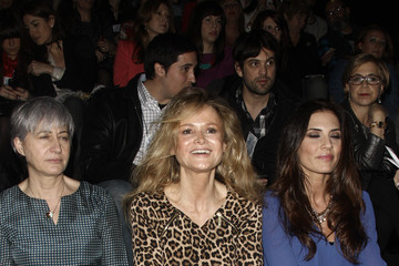 Beba Longoria Mercedes Benz Fashion Week Madrid W/F 2014 - Celebrities Day 2