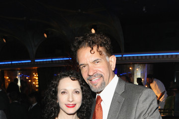 Bebe Neuwirth Brian Stokes Mitchell Inside the Tony Honors Cocktail Party
