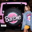 Becca Tilley Barbie Truck Totally Throwback Tour Launch