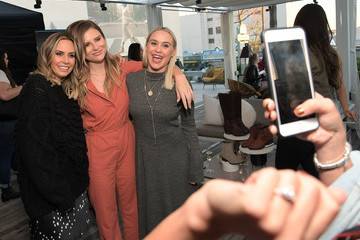 Becca Tobin SOREL x LadyGang Fall Podcast + Party