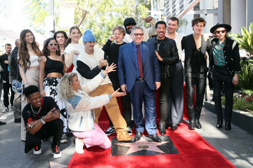 Beck Sir Lucian Grainge Honored With A Star On The Hollywood Walk Of Fame