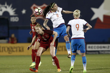 Becky Sauerbrunn Russia v United States