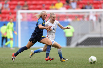 Becky Sauerbrunn USA v Sweden Quarterfinal: Women's Football - Olympics: Day 7
