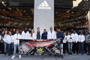 Becky Sauerbrunn adidas Opens the Doors to Its New York City Flagship Location With Special Guests