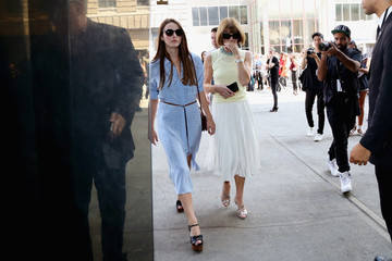 Bee Shaffer Seen Around Spring 2016 New York Fashion Week: The Shows - Day 4