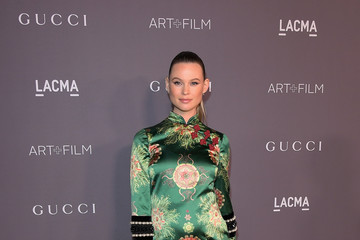 Behati Prinsloo 2017 LACMA Art + Film Gala Honoring Mark Bradford and George Lucas Presented by Gucci - Red Carpet