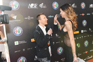 Belen Rodriguez Bocelli and Zanetti Night - Red Carpet