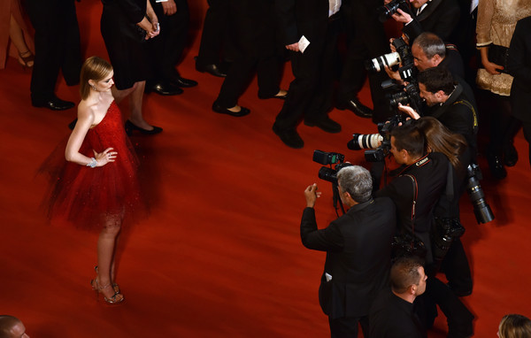 'The Neon Demon'- Red Carpet Arrivals - The 69th Annual Cannes Film Festival