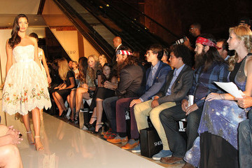 Bella Robertson MBFW: Front Row at Evening by Sherri Hill