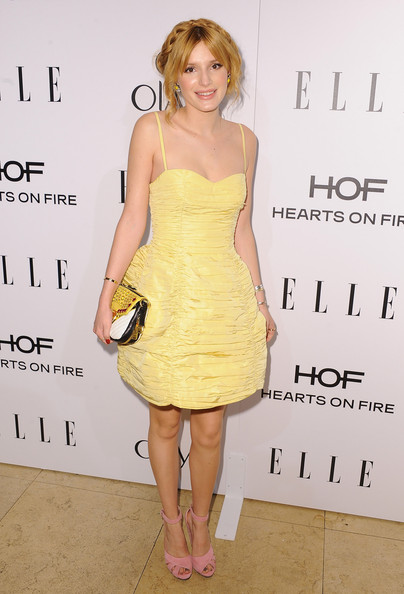 Bella Thorne - Arrivals at ELLE's Women in Television Celebration
