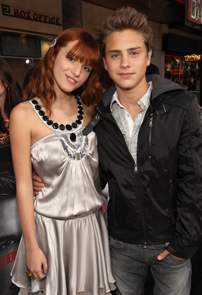 Bella Thorne And Garrett Backstrom Premiere Of Lionsgate Films