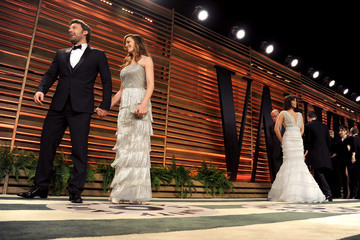 Ben Affleck Stars at the Vanity Fair Oscar Party