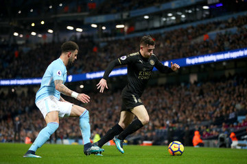 Ben Chilwell Manchester City v Leicester City - Premier League