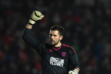 Ben Foster Bristol City v West Bromwich Albion - The Emirates FA Cup Third Round Replay