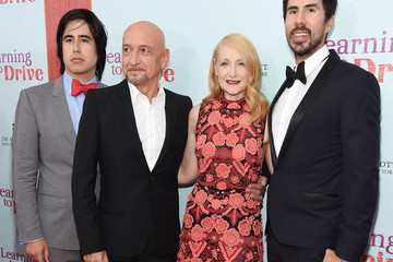 Ben Kingsley Patricia Clarkson 'Learning to Drive' New York Premiere