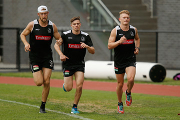 Ben Reid Collingwood Magpies Training Session