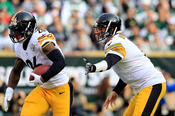 Ben Roethlisberger and Le'Veon Bell - Pittsburgh Steelers v New York Jets
