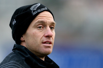 Ben Smith New Zealand All Blacks Training Session