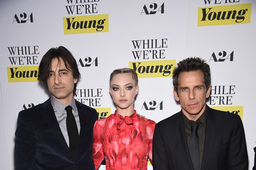 Ben Stiller 'While We're Young' New York Premiere - Arrivals
