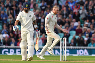 Ben Stokes England vs. India: Specsavers 5th Test - Day Two