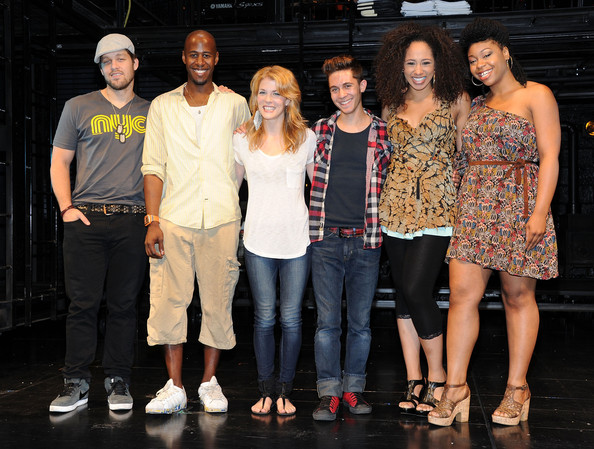 """""""Rent"""" Off-Broadway Cast Photocall"""
