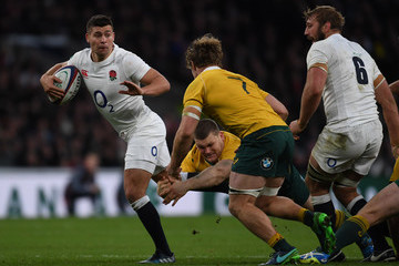 Ben Youngs England v Australia - Old Mutual Wealth Series