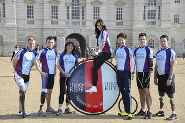 Ben Zissman Help For Heroes Launch Hero Ride - Photocall