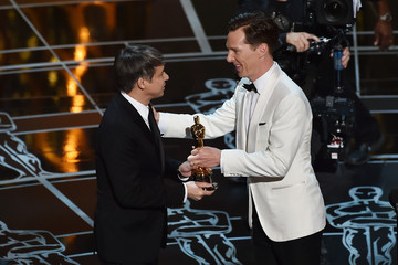 Benedict Cumberbatch 87th Annual Academy Awards Show