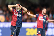 Giuseppe Rossi of Genoa CFC stands disappointed during the serie A match between Benevento Calcio and Genoa CFC at Stadio Ciro Vigorito on May 12, 2018 in Benevento, Italy.