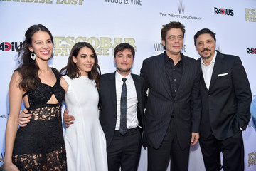 Benicio Del Toro Premiere of RADiUS and the Weinstein Company's 'Escobar: Paradise Lost' - Red Carpet