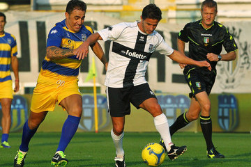 Benito Carbone FC Parma Celebrate 100 years Anniversary