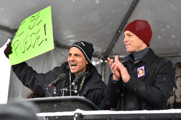 Benjamin Bratt Women's March On Main - Park City 2017