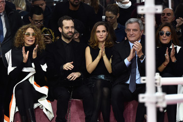 Benjamin Millepied Front Row at Christian Dior