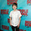Benjamin Stockham Los Angeles Red Carpet Screening of 'Middle School: The Worst Years of My Life'