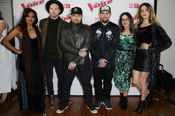 Benji Madden 'The Voice' Australia Judges And Top 16 Artists Launch 2016 Live Shows