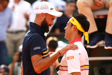 Benoit Paire 2018 French Open - Day Four