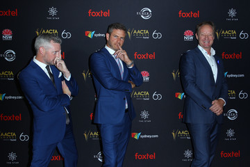 Bernard Curry 2018 AACTA Awards Presented By Foxtel   Industry Luncheon - Red Carpet