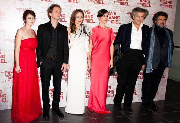 'In the Land Of Blood And Honey' - Paris Premiere