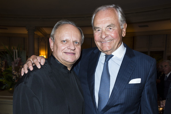 Celebs at a Benefit Auction Dinner in Paris
