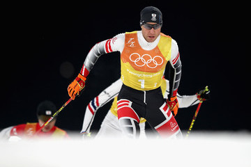 Bernhard Gruber Nordic Combined - Winter Olympics Day 13