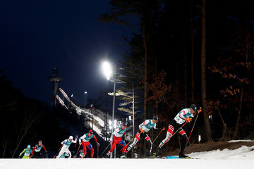 Bernhard Gruber Nordic Combined - Winter Olympics Day 5
